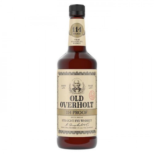 Old Overholt 114 Proof Rye Whiskey 750ml Limited Release