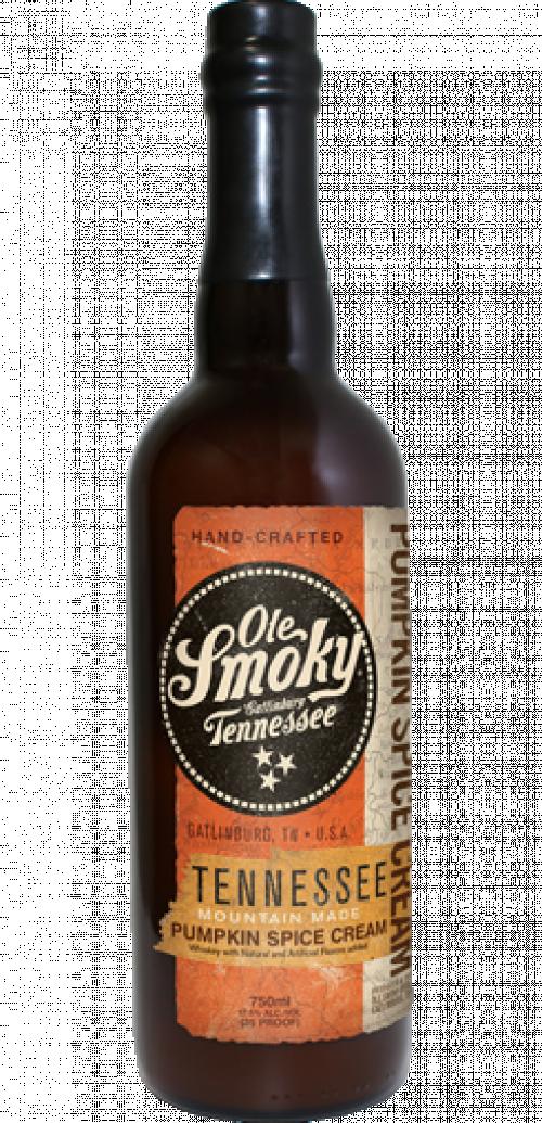 Ole Smoky Pumpkin Spice Cream 750ml