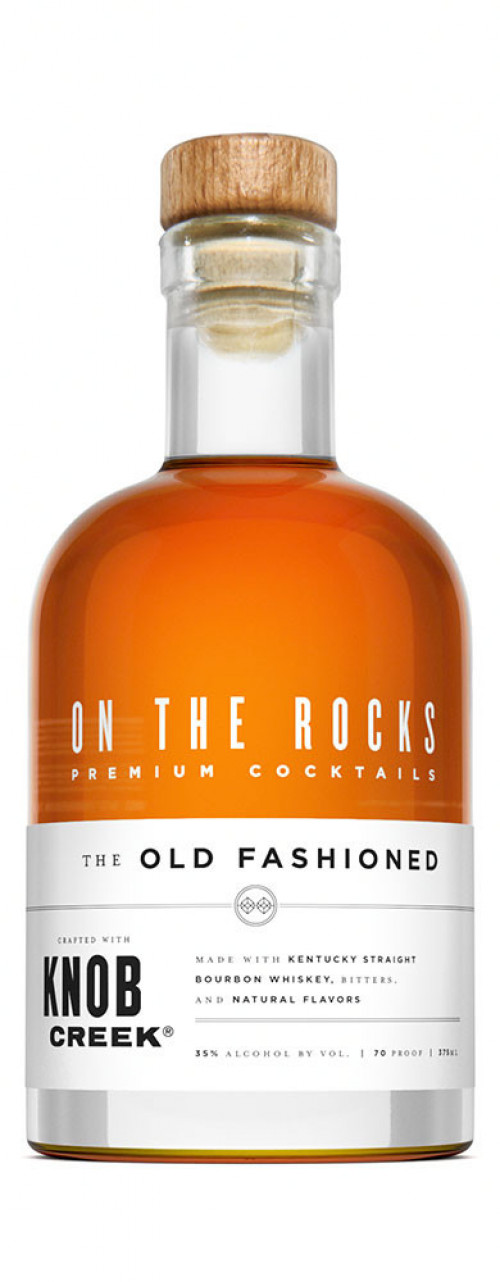 On The Rocks Old Fashioned made with Knob Creek 375ml