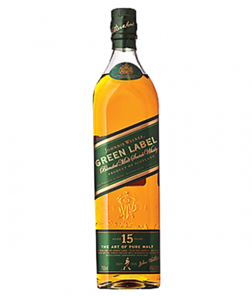 Johnnie Walker Green Label Blended Scotch 750ml