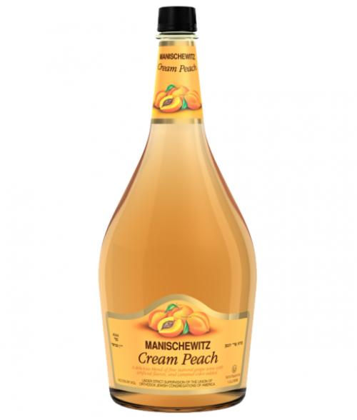 Manischewitz Cream Peach 1.5L NV