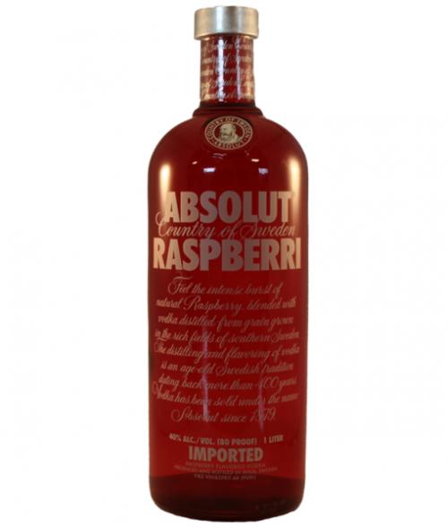 Absolut Raspberri Vodka 1L