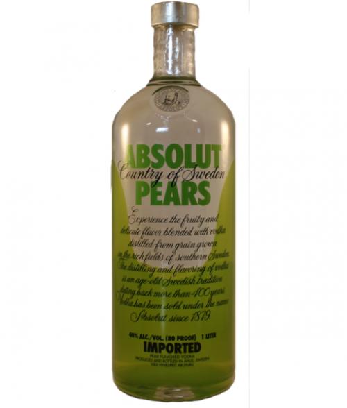 Absolut Pears Vodka 1L
