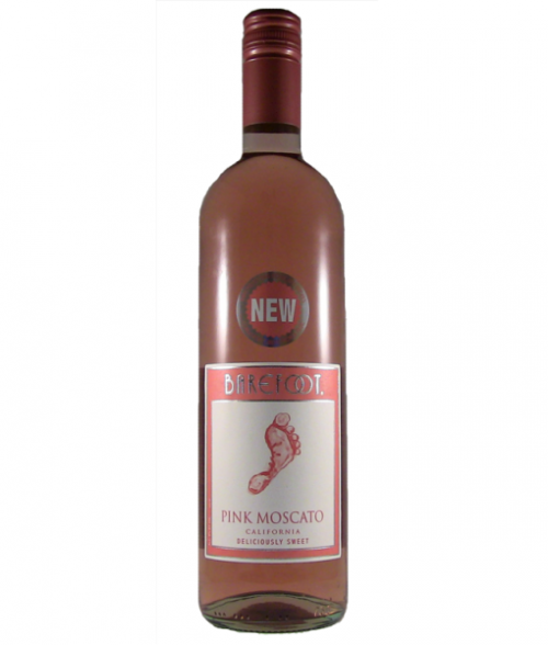 Barefoot Pink Moscato 750ml NV