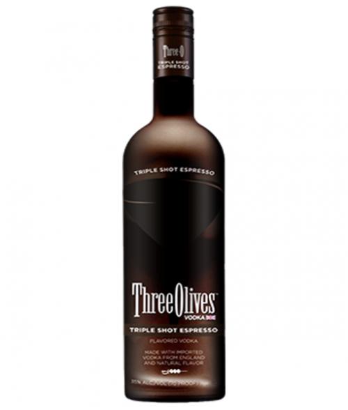 Three Olives Triple Shot Espresso Vodka 1L