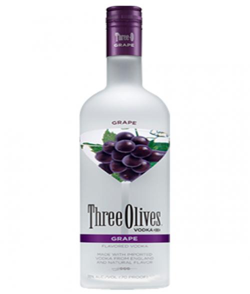 Three Olives Grape Vodka 1.75L