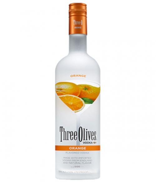 Three Olives Orange Vodka 1L