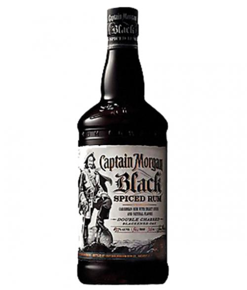 Captain Morgan Black Spiced Rum 1L