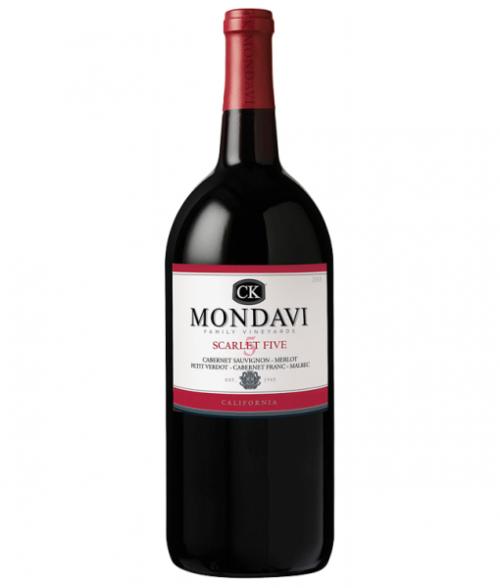 C.K. Mondavi Scarlett 5 Red Blend 1.5L NV