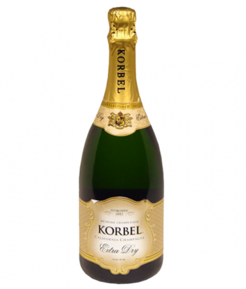 Korbel Extra Dry California Champagne 750ml NV