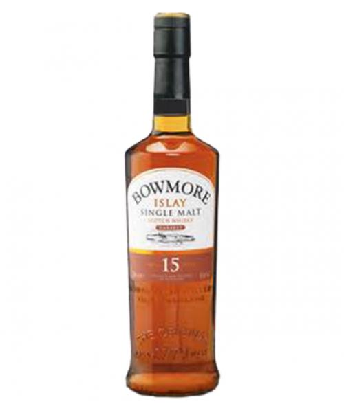 Bowmore 15 Yr Darkest Islay Single Malt Scotch 750ml