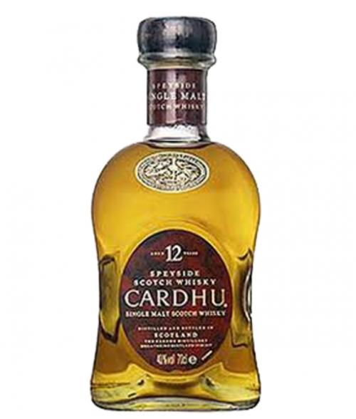 Cardhu 12Yr Speyside Single Malt Scotch 750ml