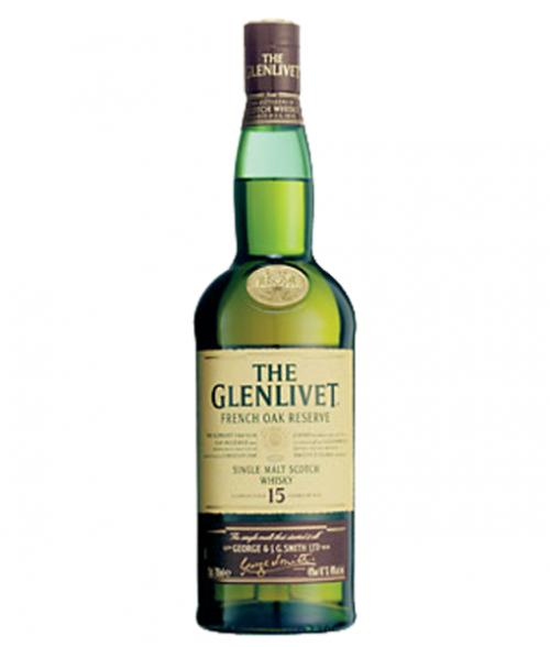 Glenlivet 15Yr Frenck Oak Single Malt Scotch 750ml