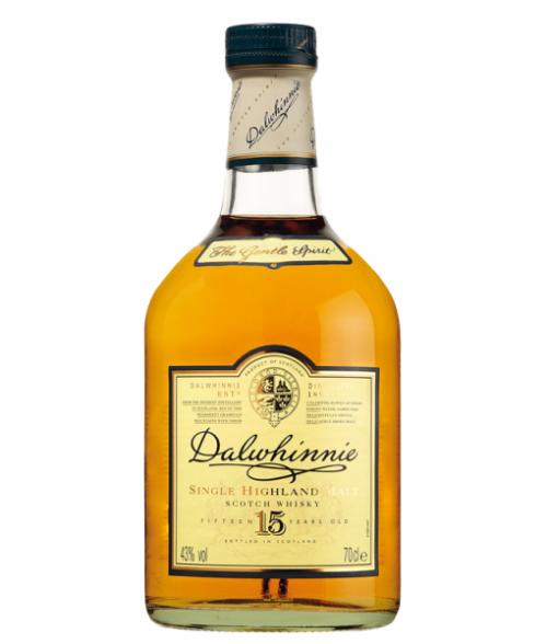 Dalwhinnie 15Yr Single Malt Scotch 750ml