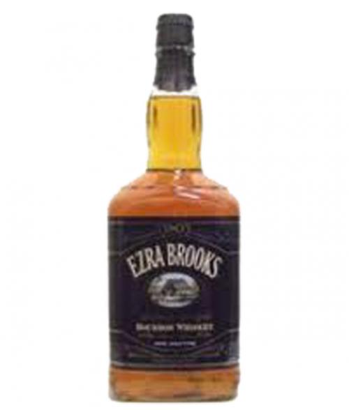 Ezra Brooks 90 Proof Bourbon Black Label 1.75L