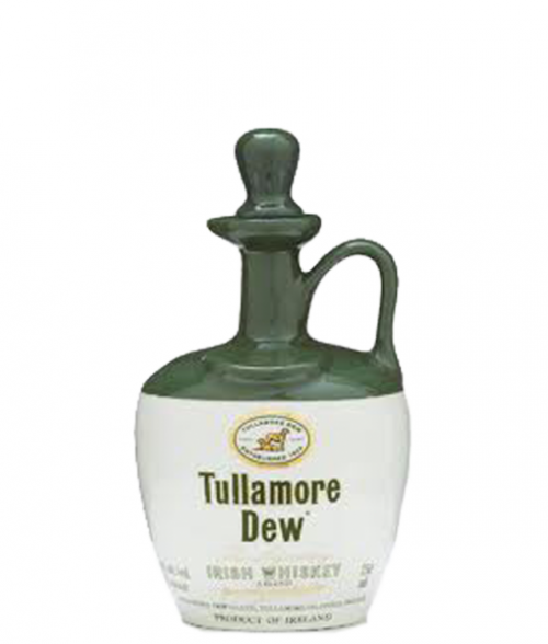 Tullamore Dew Crock Irish Whiskey 750ml