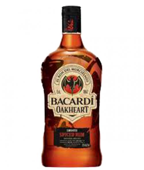 Bacardi Oakheart Spiced Rum 1.75L