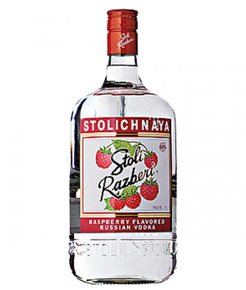 Stolichnaya Razberi Vodka 1.75L