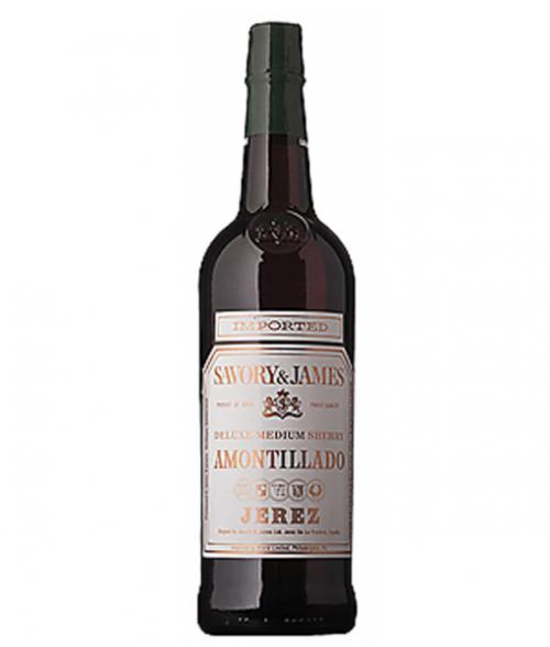 Savory & James Amontillado Sherry 750ml NV