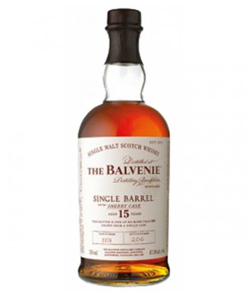 Balvenie 15Yr Sherry Cask Single Barrel Scotch Whisky 750ml