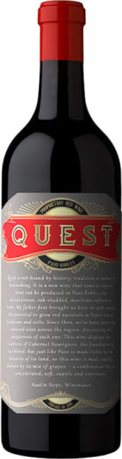 2018 Quest Red Blend 750ml