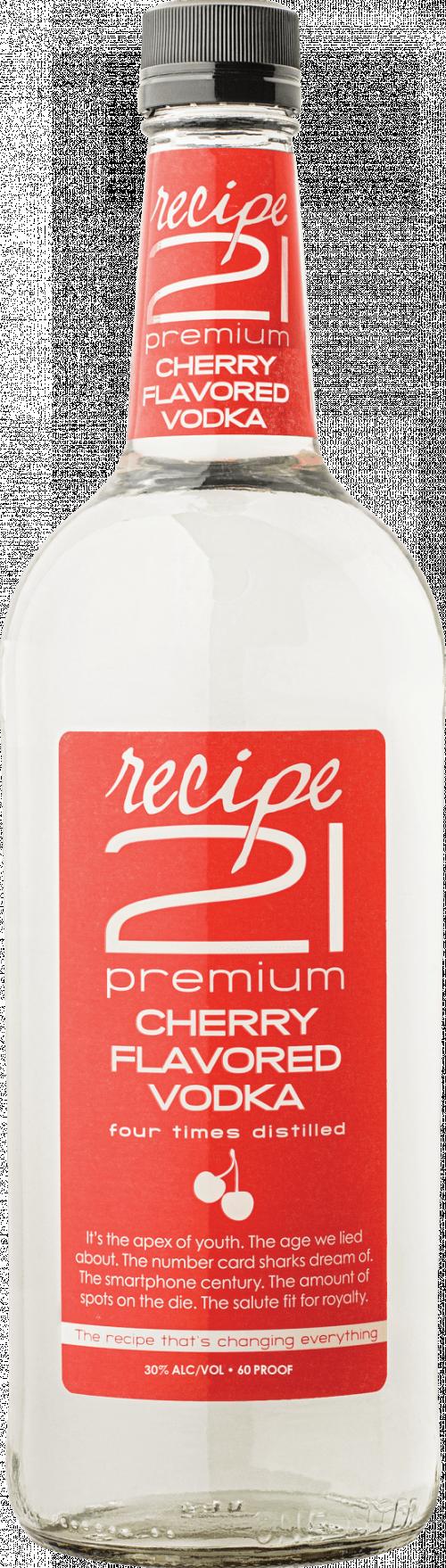 Recipe 21 Cherry Vodka 1.75L