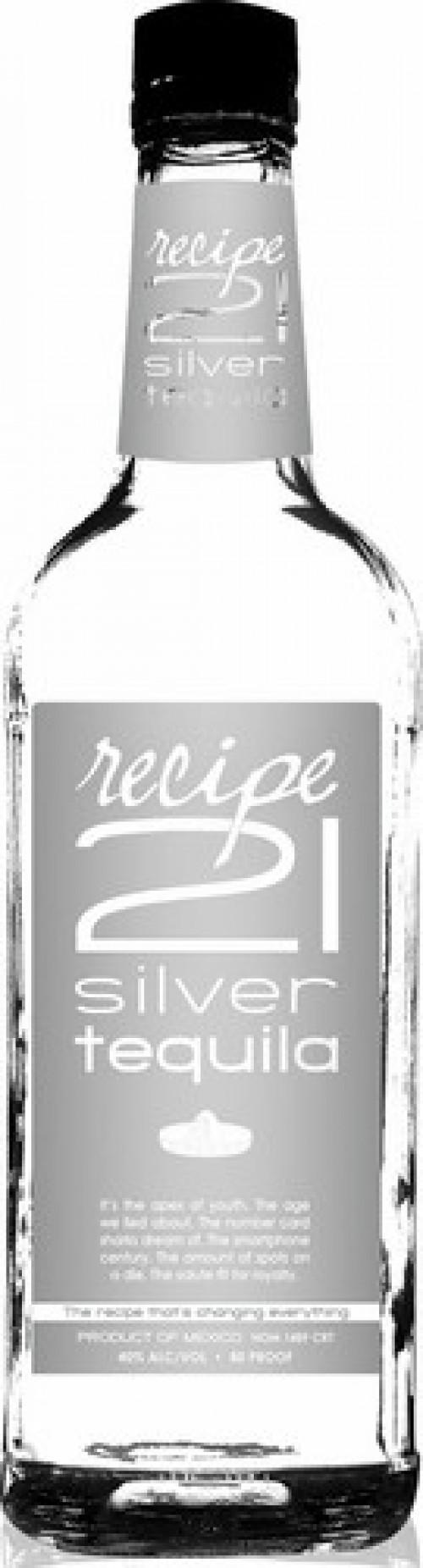 Recipe 21 Silver Tequila 1L