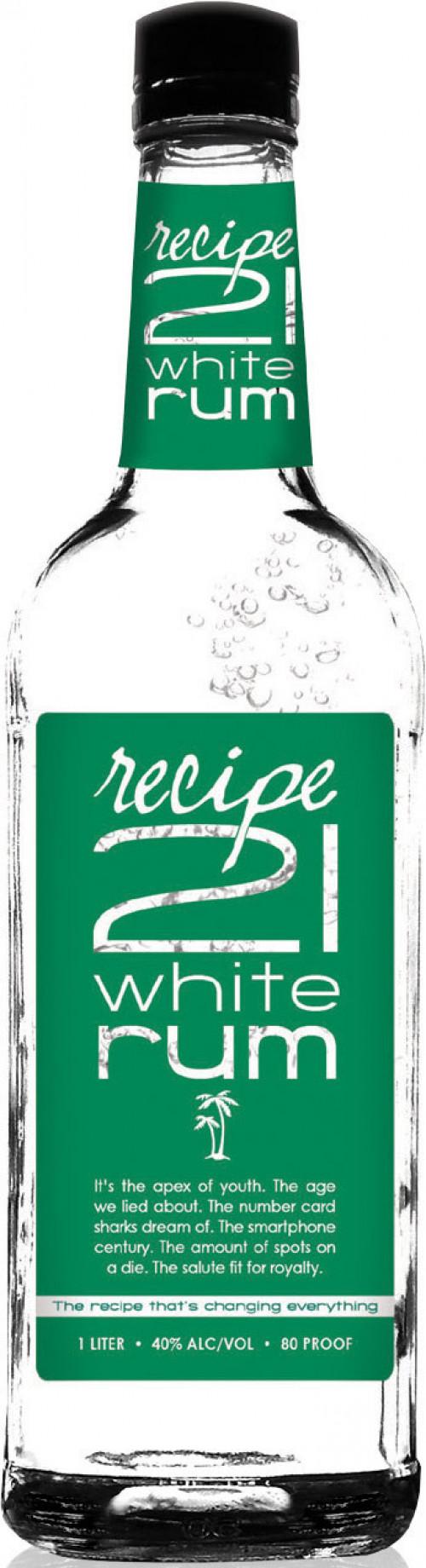 Recipe 21 White Rum 1L