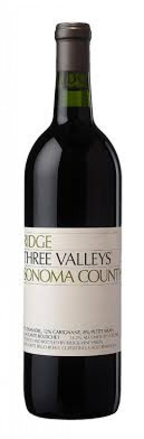 2019 Ridge Three Valleys 750ml