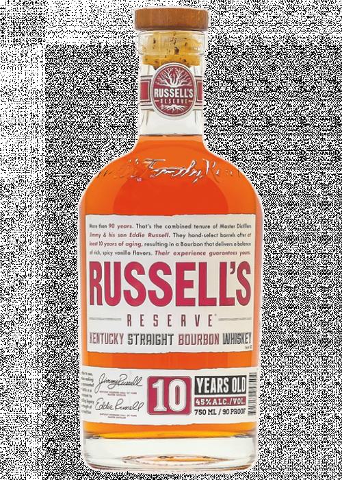 Russell's Reserve 10Yr Bourbon 750ml