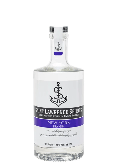 St Lawrence New York Gin 750ml