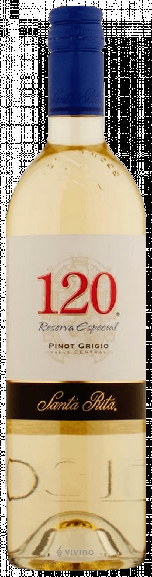 Santa Rita 120 Pinot Grigio 750ml NV