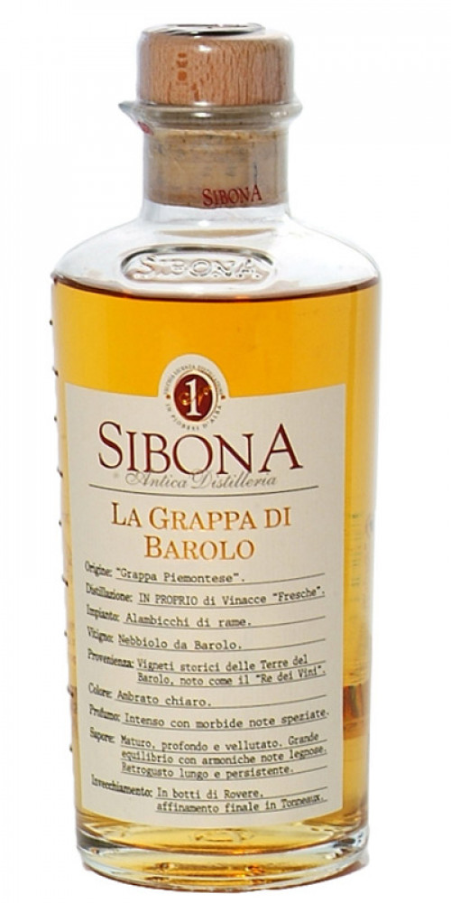 Sibona Grappa Barolo 1L