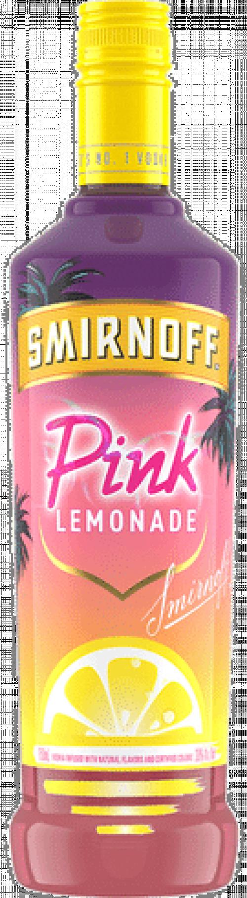 Smirnoff Pink Lemonade Vodka 750ml