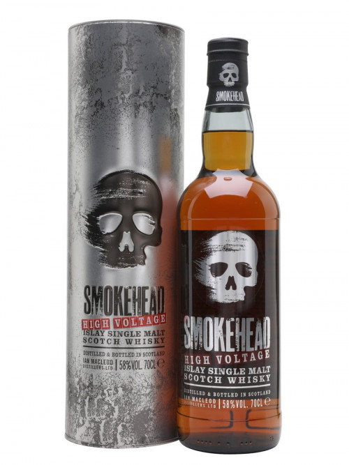 Smokehead High Voltage Single Malt Scotch Whisky 750ml