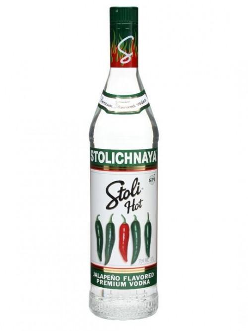 Stolichnaya Jalapeno Hot Vodka 1L