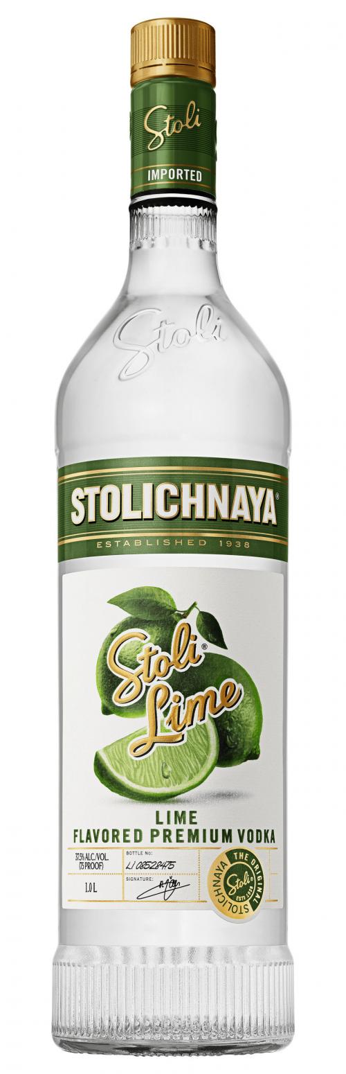 Stolichnaya Lime Vodka 1L