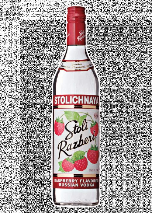 Stolichnaya Razberi Vodka 1L
