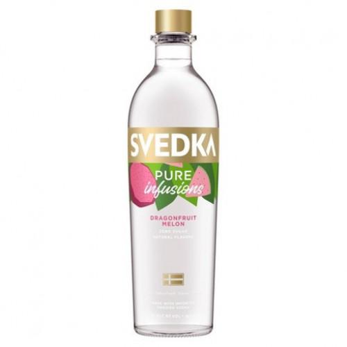 Svedka Pure Infusions Dragonfruit/Melon Vodka 1L