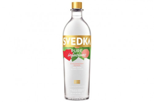 Svedka Pure Infusions Strawberry/Guava Vodka 1L