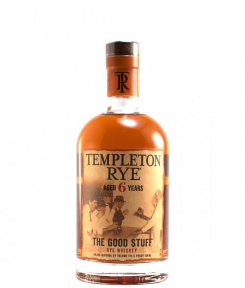 Templeton 6Yr Rye Whiskey 750ml