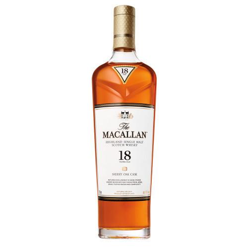 Macallan 18Yr Sherry Oak Highland Single Malt 750ml