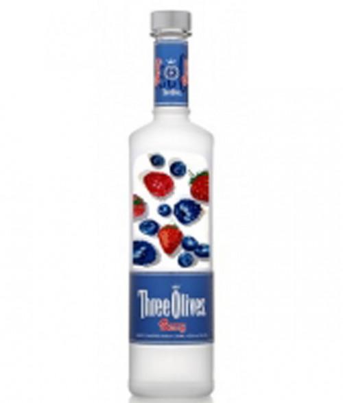 Three Olives Berry Vodka 1L