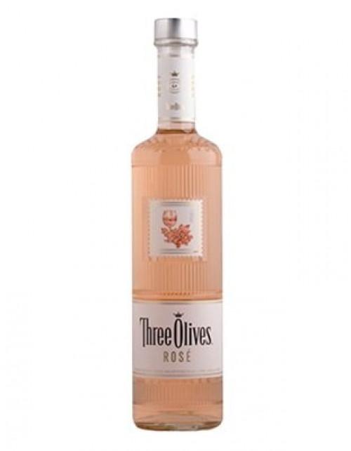 Three Olives Rose Vodka 1L