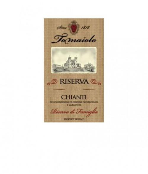 2016 Tomaiolo Riserva Chainti Gold Label Famiglia 750ml