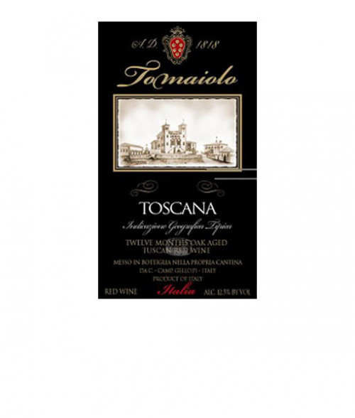 2016 Tomaiolo Toscana Red 750ml