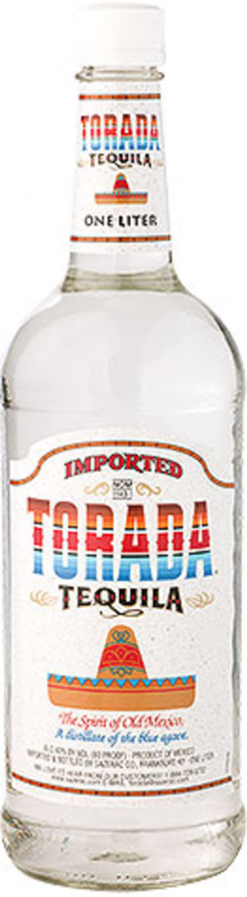 Torada Silver Tequila 1L