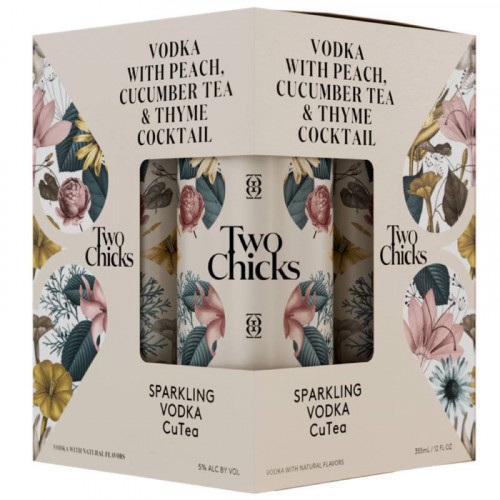 Two Chicks Sparkling Cutea 4Pk 355ml Cans