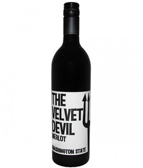 2018 The Velvet Devil Merlot 750ml