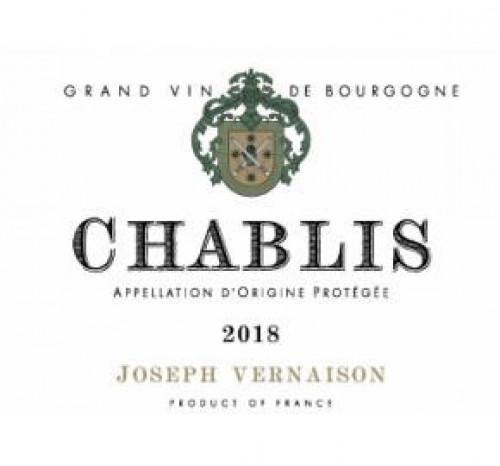 2018 Joseph Vernaison Chablis 750ml